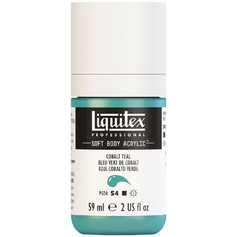 Liquitex Soft Body Acrylic 59ml Cobalt Teal S4, , hi-res