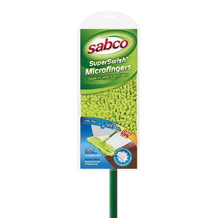 Sabco SuperSwish Microfingers Green, , hi-res