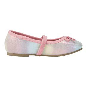 Young Original Kids' Rainbow Ballet Shoes