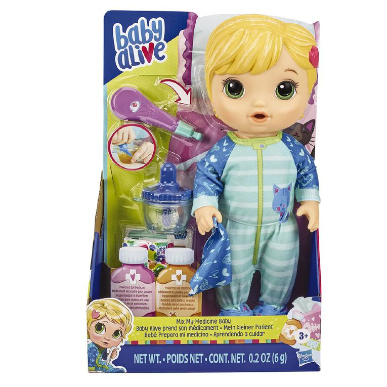 Baby Alive All Better Baby Blonde Hair, , hi-res