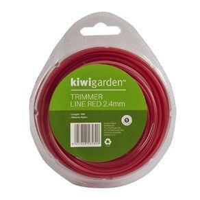Kiwi Garden Trimmer Line Red 2.4mm/15m
