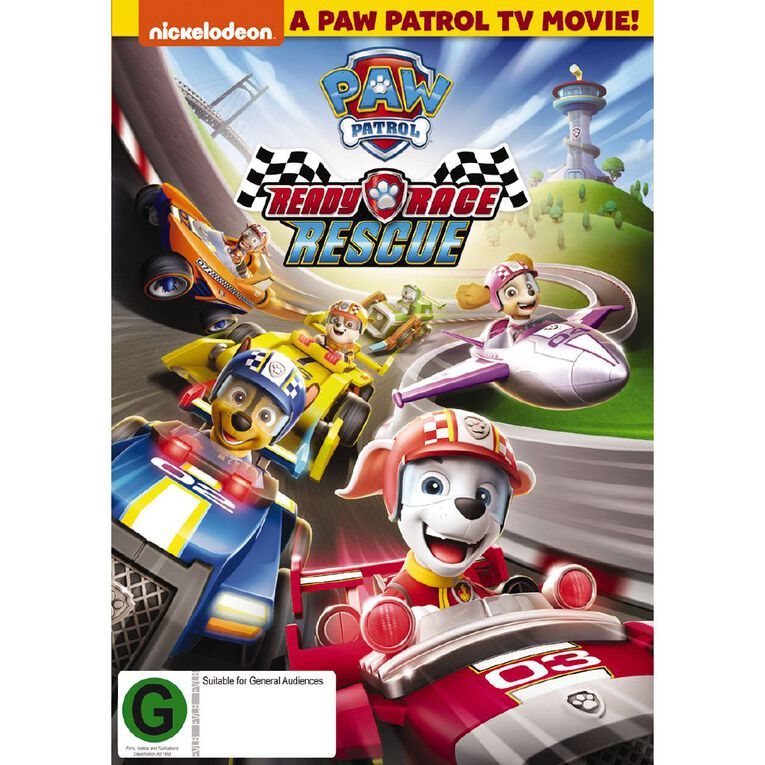Paw Patrol Ready Race Rescue DVD 1Disc, , hi-res