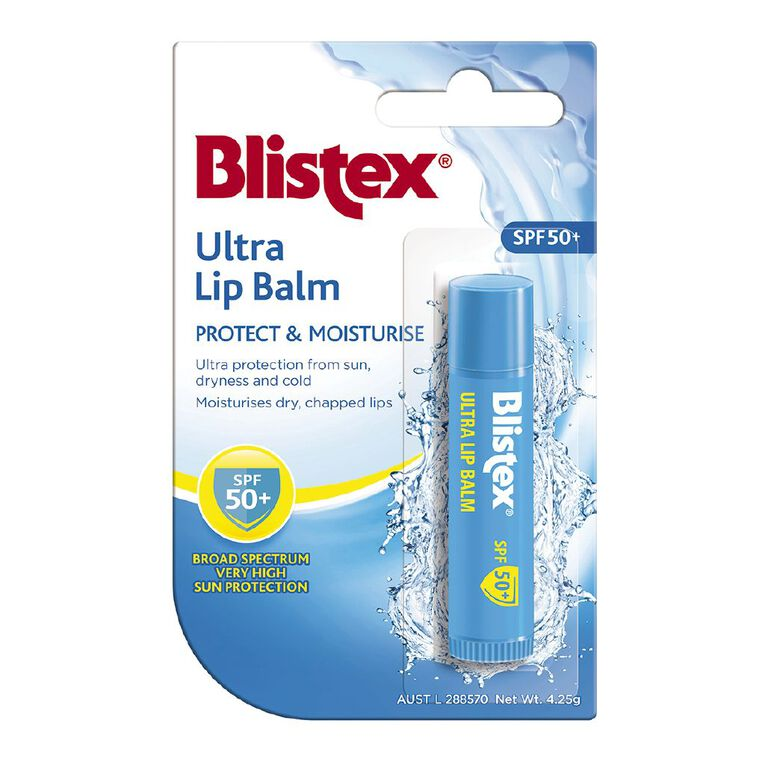 Blistex Ultra Lip Balm SPF50+ 4.25g, , hi-res