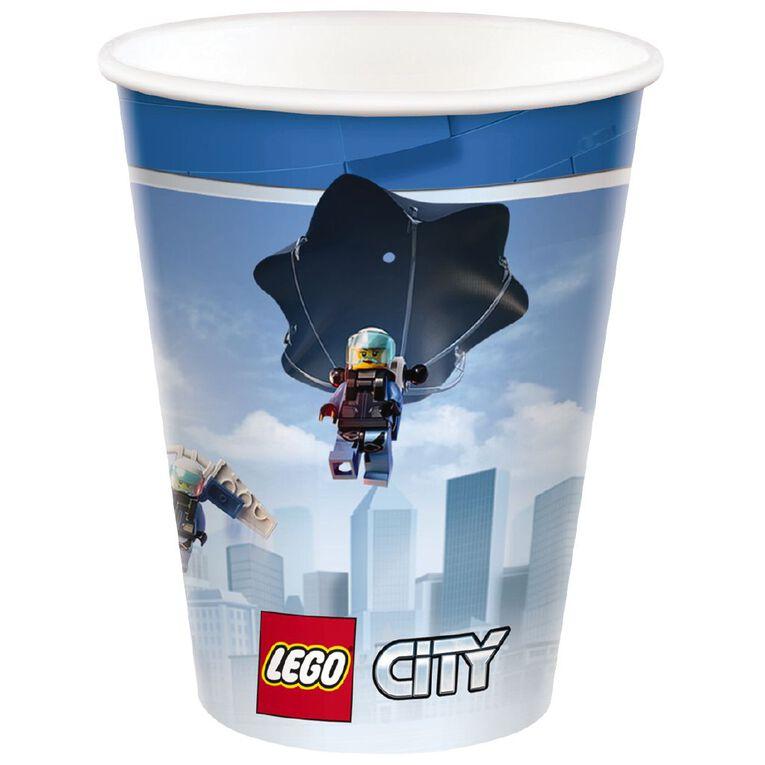 LEGO City Cups 266ml 8 Pack, , hi-res