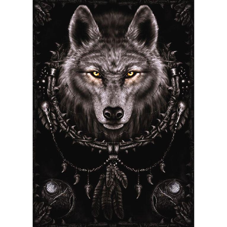 Poster #27 Spiral Wolf Dream Catcher, , hi-res