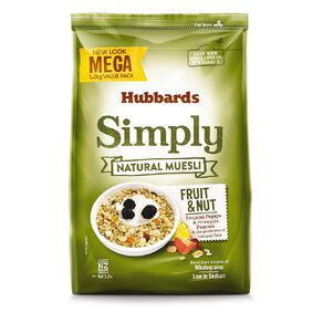 Hubbards Simply Mega Natural Fruit and Nut 1.2kg