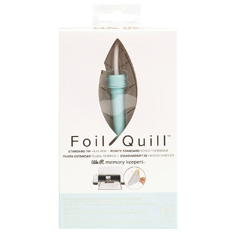 We R Memory Keepers Foil Quill Pens Standard Tip Pen 6 Piece, , hi-res