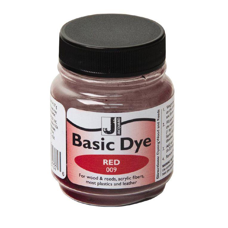 Jacquard Basic Dye 14.17g Red, , hi-res