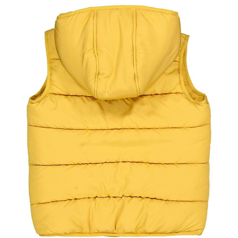 Young Original Candy Puff Vest, Yellow Dark, hi-res