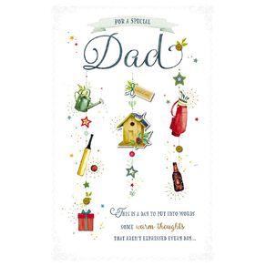 John Sands Father's Day Cards Dad Simply Precious Dad Bird House