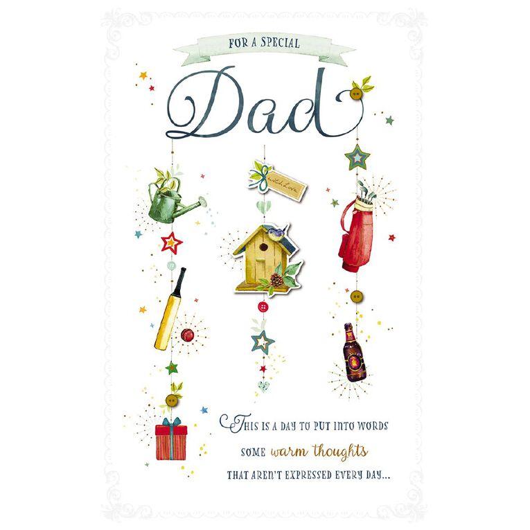 John Sands Father's Day Cards Dad Simply Precious Dad Bird House, , hi-res