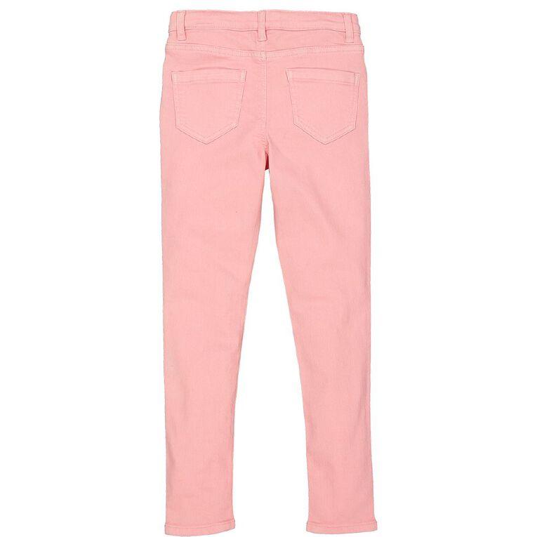 Young Original Girls' Stretch Skinny Jeans, Pink Light, hi-res