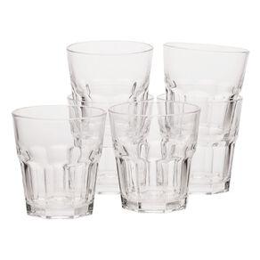 Living & Co Bistro Short Glass Tumbler 6 Pack