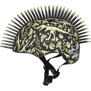 Raskullz T-REX Bonez Mohawk Helmet Toddler 3+ 48-52 cm