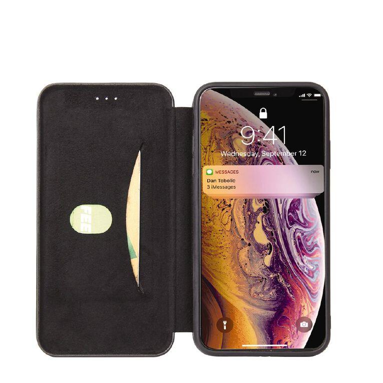 INTOUCH iPhone 12 Mini Milano Wallet Case Black, , hi-res