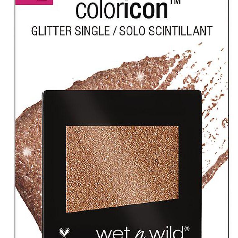 Wet n Wild Color Icon Eyeshadow Glitter single Nudecomer, , hi-res