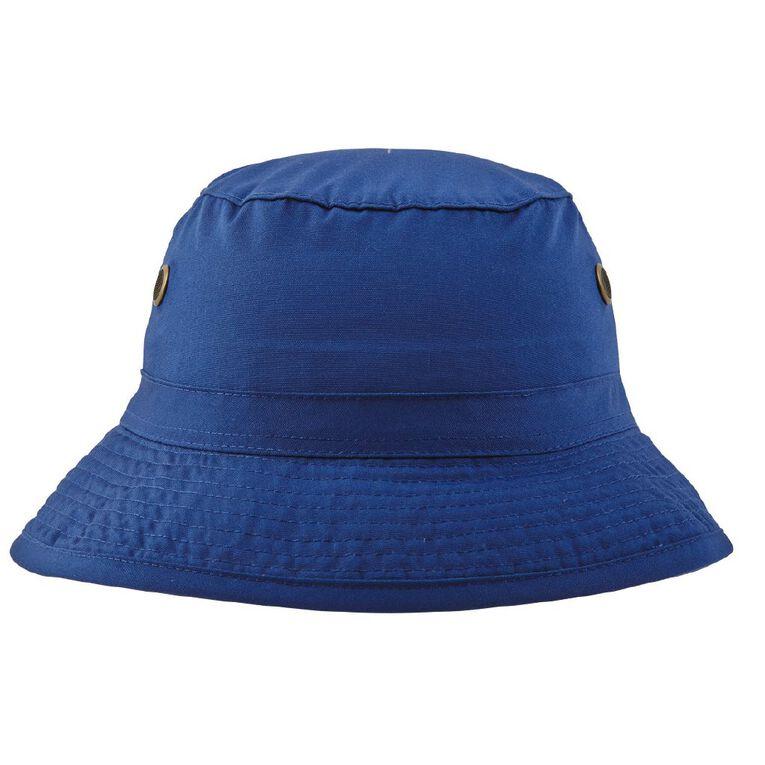 Schooltex Bucket Hat, Royal, hi-res