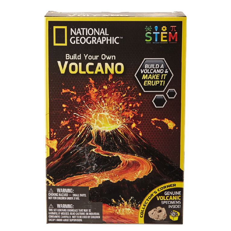 National Geographic Volcano Science Kit, , hi-res