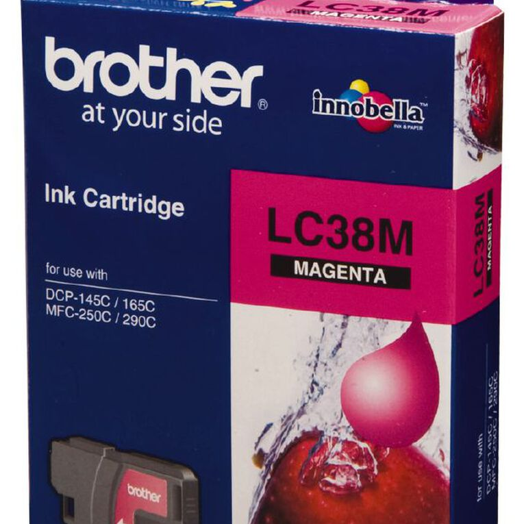 Brother Ink LC38 Magenta (260 Pages), , hi-res
