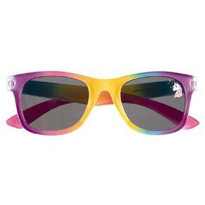Kids' Glitter Unicorn Pink Sunglasses