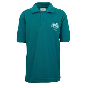 Schooltex Ouruhia Model Short Sleeve Polo with Embroidery