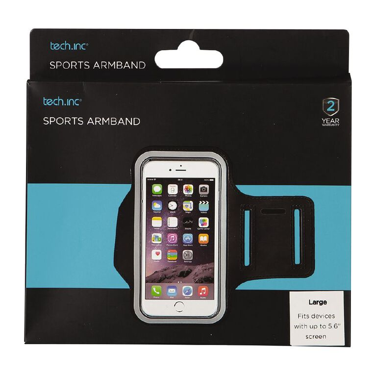 Tech.Inc Sports Armband Up to 5.6 inch Screen Large, , hi-res