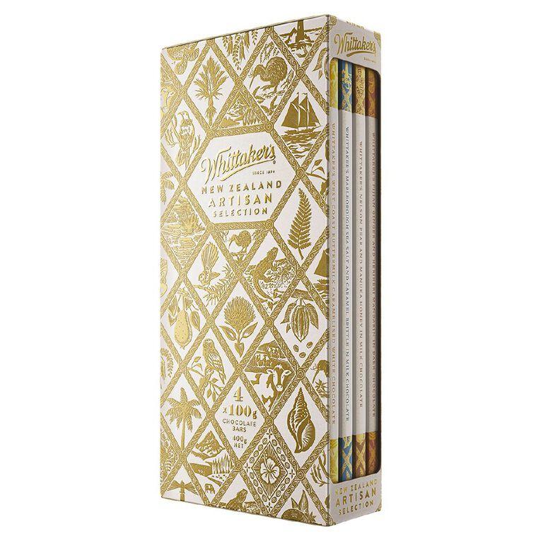 Whittaker's New Zealand Artisan Selection Gift Box 4x 100g, , hi-res