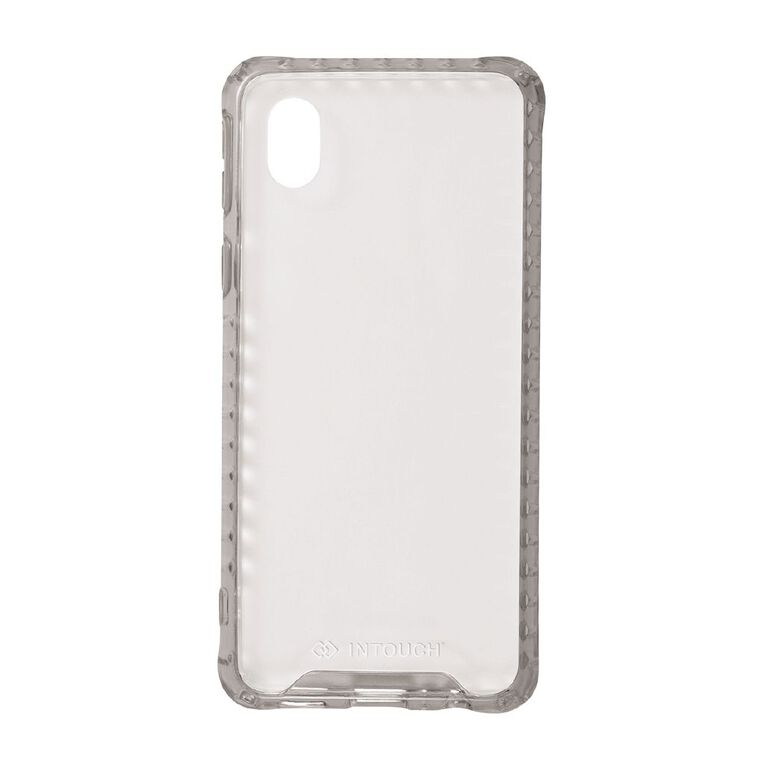 INTOUCH Samsung A01 Core Vanguard Drop Protection Case Clear, , hi-res