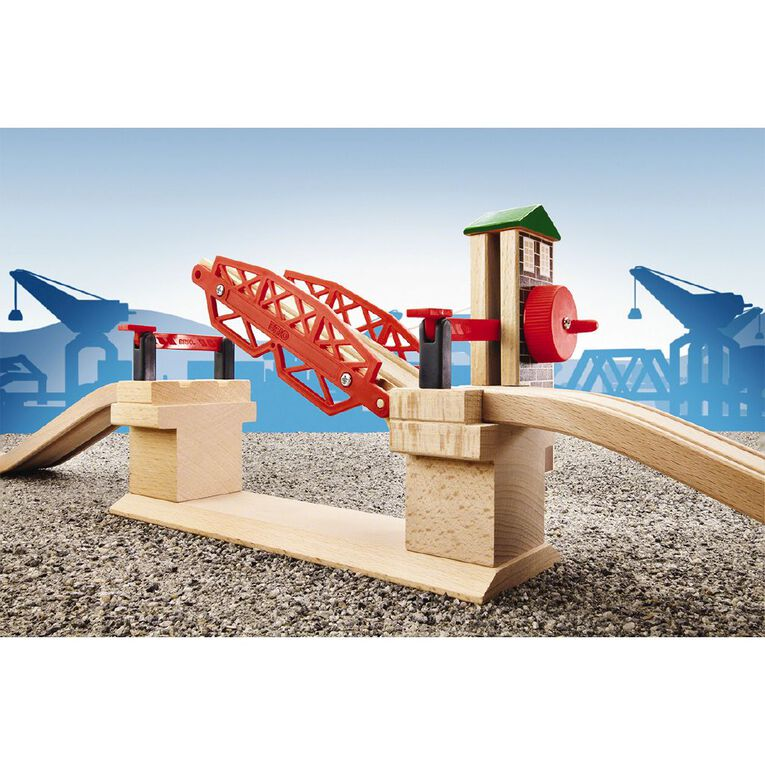 Brio Lifting Bridge 3 Pieces, , hi-res