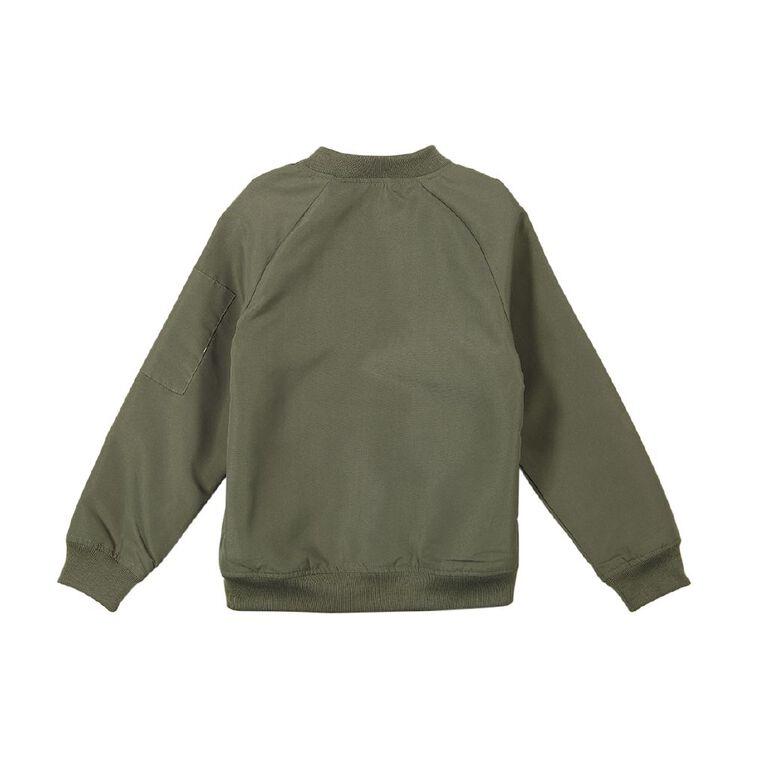 Young Original Bomber Jacket, Green Mid, hi-res