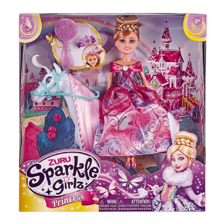 Zuru Sparkle Girlz Princess with Horse Play Set, , hi-res