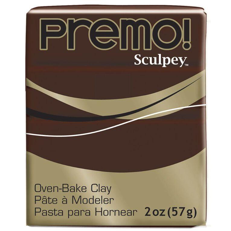 Sculpey Premo Accent Clay 57g Burnt Umber, , hi-res