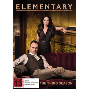 Elementary Season 3 DVD 6Disc