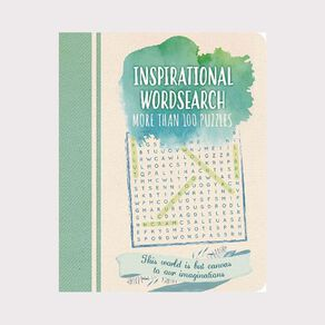 Inspirational Wordsearch by Eric Saunders N/A
