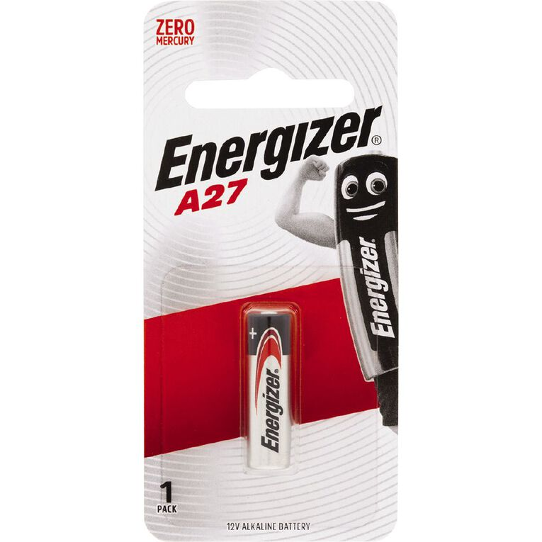 Energizer Alkaline Button Battery A27 12 Volt, , hi-res