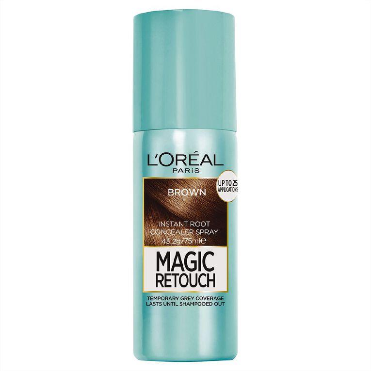 L'Oreal Paris Magic Retouch Brown 75ml, , hi-res