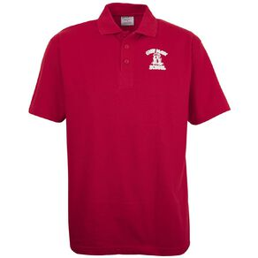 Schooltex Greymouth Main School Short Sleeve Polo with Transfer
