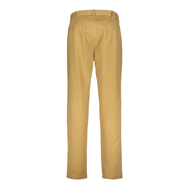 H&H Men's Monaco Formal Pants, Beige, hi-res image number null