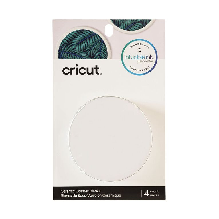 Cricut Infusible Ink Round Coasters 4 pack 4 Pack, , hi-res