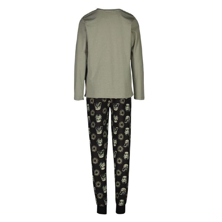 Star Wars Boys' Knit Pyjama, Khaki, hi-res
