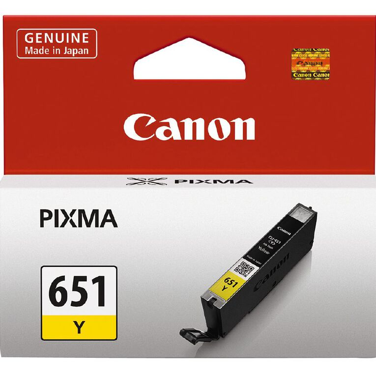 Canon Ink CLI651 Yellow (330 Pages), , hi-res