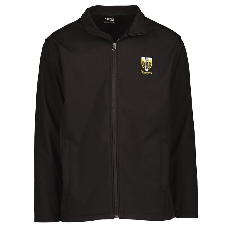 Schooltex Tikipunga High Jacket with Embroidery, Black, hi-res