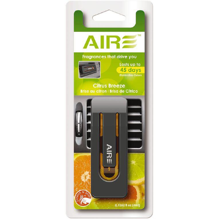 Aromate Air Scented Oil Vent Mount Car Air Freshener Citrus, , hi-res