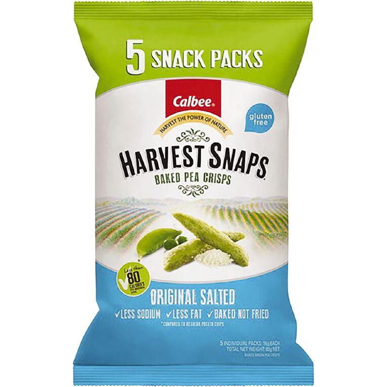 Calbee Harvest Snaps Multipack Orig Salted 5pk, , hi-res