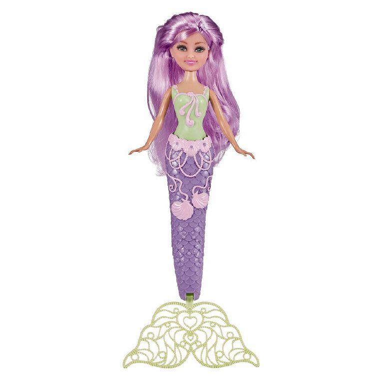 Zuru Sparkle Girlz Doll Mermaid / Fairy Bubbles 10.5 Inch Assorted, , hi-res