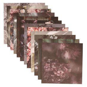 Uniti Floral Nights Paper Pad 6x6 Inch