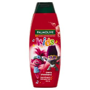 Palmolive Kids 3-in-1 Merry Strawberry 350ml