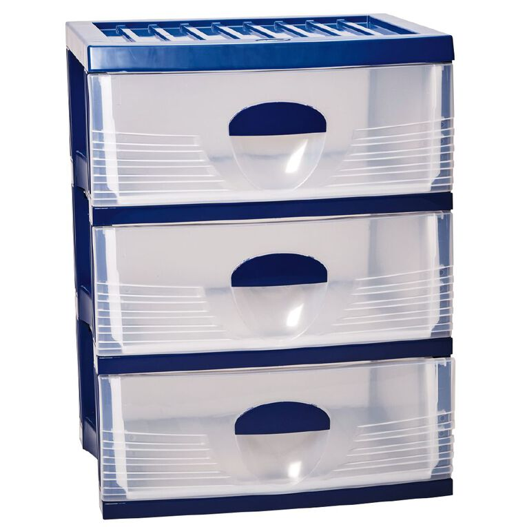 Taurus Storage Drawers A2 Assorted 3 Tier, , hi-res