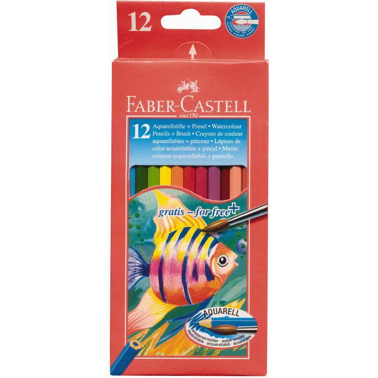 Faber-Castell Watercolour Pencils 12 Pack, , hi-res