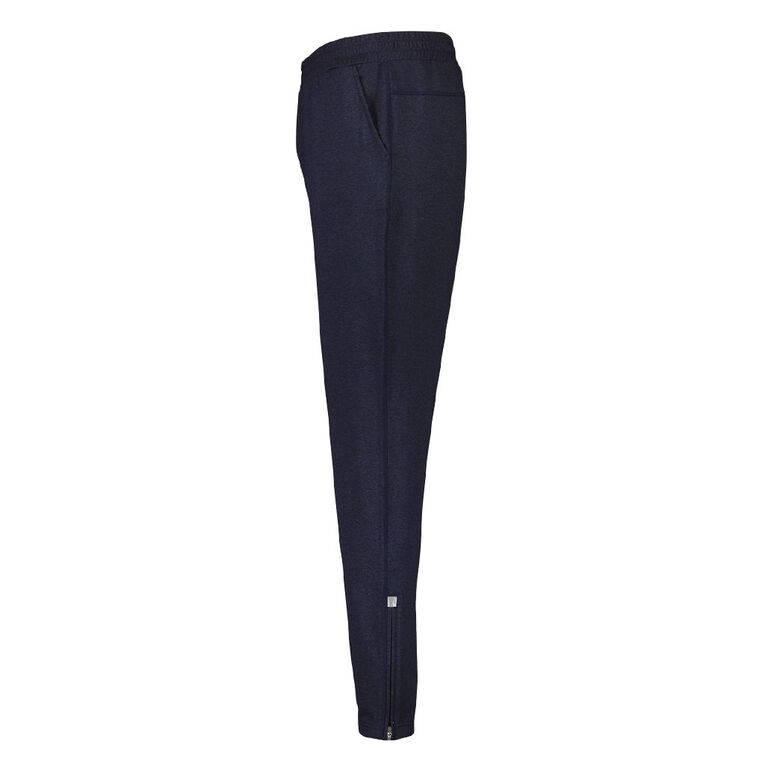 Active Intent Men's Slim Leg Joggers, Blue Dark, hi-res image number null